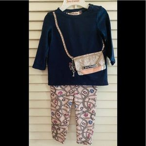 Juicy couture outfit with working purse pocket 👛